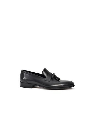 Tripy Hakiki Deri Ayakkabı Siyah